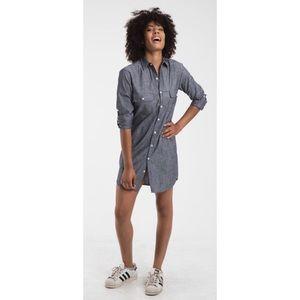Emily Phillips Girlfriend Shirt Mini Dress Sz 2